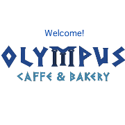 This is the restaurant logo for Olympus Caffe & BierGarten / DasBierhauz