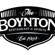 This is the restaurant logo for The Boynton