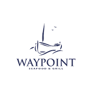 This is the restaurant logo for Waypoint Seafood & Grill