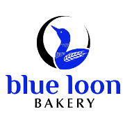 This is the restaurant logo for Blue Loon Bakery