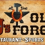 Restaurant logo for TJ's at The Old Forge  & Cowgirl Coffee