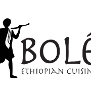 This is the restaurant logo for Bolé Ethiopian Cuisine