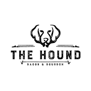 This is the restaurant logo for The Hound