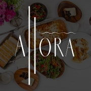This is the restaurant logo for Allora