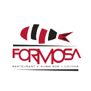This is the restaurant logo for Formosa Sushi