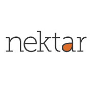 This is the restaurant logo for Nektar Wine Bar