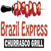 This is the restaurant logo for Brazil Express Grill
