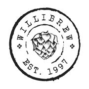 This is the restaurant logo for Willimantic Brewing Co. - Willibrew