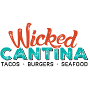 This is the restaurant logo for Wicked Cantina