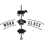 This is the restaurant logo for Work & Class