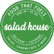 This is the restaurant logo for The Salad House
