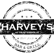 This is the restaurant logo for HARVEY'S in HUNTERSVILLE
