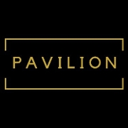 This is the restaurant logo for Pavilion Food & Spirits
