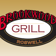 This is the restaurant logo for Brookwood Grill