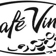 This is the restaurant logo for Cafe Vino