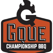 This is the restaurant logo for GQue - Lonetree