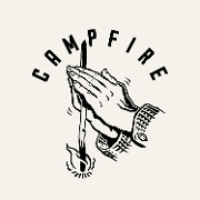 This is the restaurant logo for Campfire Restaurant