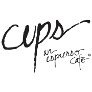 This is the restaurant logo for Cups