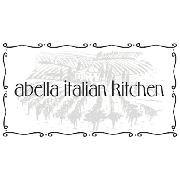 This is the restaurant logo for Abella Italian Kitchen