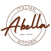 This is the restaurant logo for Abella Italian Kitchen
