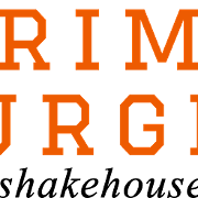 This is the restaurant logo for Prime Burger