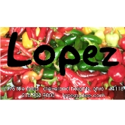 This is the restaurant logo for Lopez