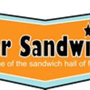 This is the restaurant logo for All Star Sandwich Bar - Inman Square
