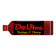 This is the restaurant logo for DeVine Tastings & Dining