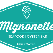 This is the restaurant logo for Mignonette