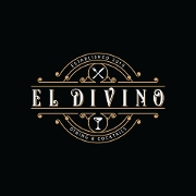 This is the restaurant logo for El Divino Dining & Cocktails