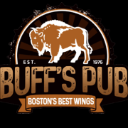 This is the restaurant logo for Buff's Pub