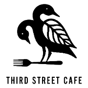 This is the restaurant logo for Third Street Cafe