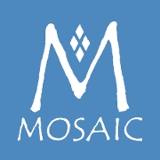 This is the restaurant logo for MOSAIC Restaurant