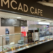 This is the restaurant logo for MCAD Cafe