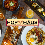 Restaurant logo for Hop Haus