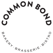 This is the restaurant logo for Common Bond Bakery - Brasserie - Bistro
