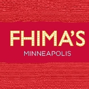This is the restaurant logo for Fhima's