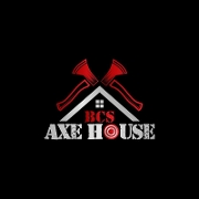 This is the restaurant logo for BCS Axe House