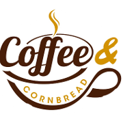 This is the restaurant logo for Coffee and Cornbread