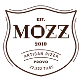This is the restaurant logo for MOZZ