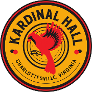 This is the restaurant logo for Kardinal Hall