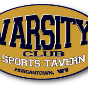 This is the restaurant logo for VARSITY CLUB TAVERN
