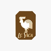 This is the restaurant logo for Le Yaca Virginia Beach