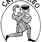 This is the restaurant logo for Cafe Lago