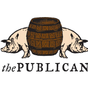 This is the restaurant logo for The Publican