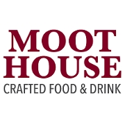 This is the restaurant logo for The Moot House