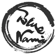 This is the restaurant logo for Blue Nami