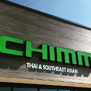 This is the restaurant logo for Chimm - Thai & SouthEast Asian