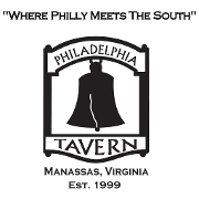 This is the restaurant logo for The Philadelphia Tavern