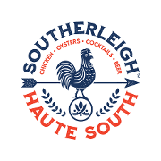 This is the restaurant logo for Southerleigh - Haute South
